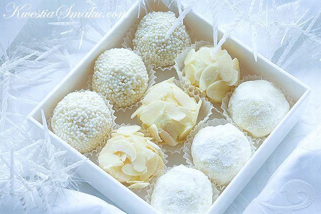 Конфеты из белого шоколада рецепты